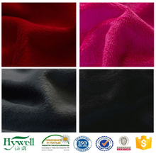 Polyester Velboa Plush Pattern S Brushing Knitted Fabric