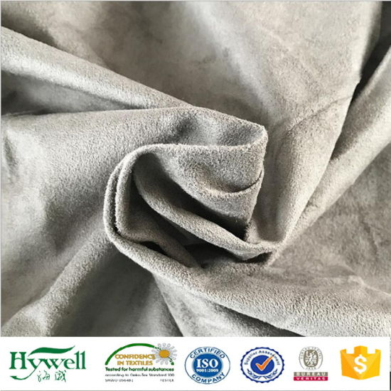 100% Polyester Warp Knitting Suede Fabric