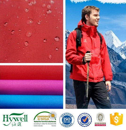 Waterproof Nylon Taslan Softshell Fabric for Outdoor Jacket