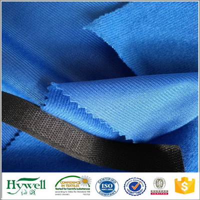 100% Polyester Warp Knitted Tricot Fabric for Shoe Lining