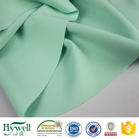 2017 Hotsale High Quality Polyester Spandex Knitted Scuba Fabric