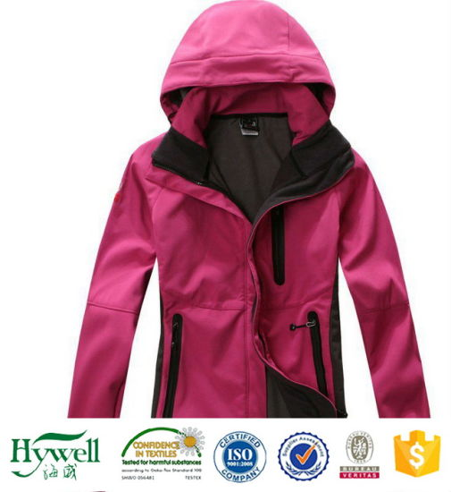 Super Softness Outdoor Sports Jacket Softshell Fabric