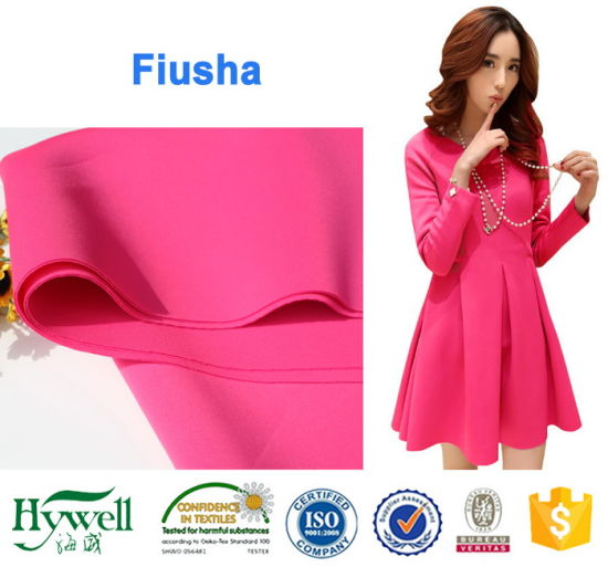 92%Polyester 8% Spandex Scuba Fabric Whosale
